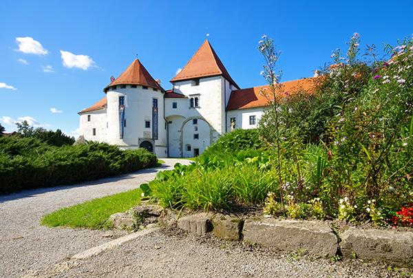 mittelalterliche Burg Varazdin in Kroatien - old medieval castle in Varazdin, Croatia